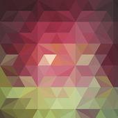 Красочная мозаика баннер — Cтоковый вектор
