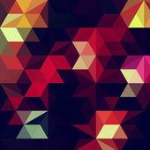 Banner de mosaico colorido — Vetor de Stock