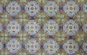 Подробно некоторые типичные португальские плитки — Стоковое фото