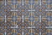 Vintage ceramic tile — Stock Photo