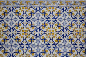 Detail of some typical portuguese tiles — Stock Photo