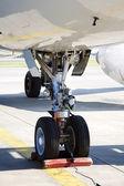 Underrede av flygplan — Stockfoto
