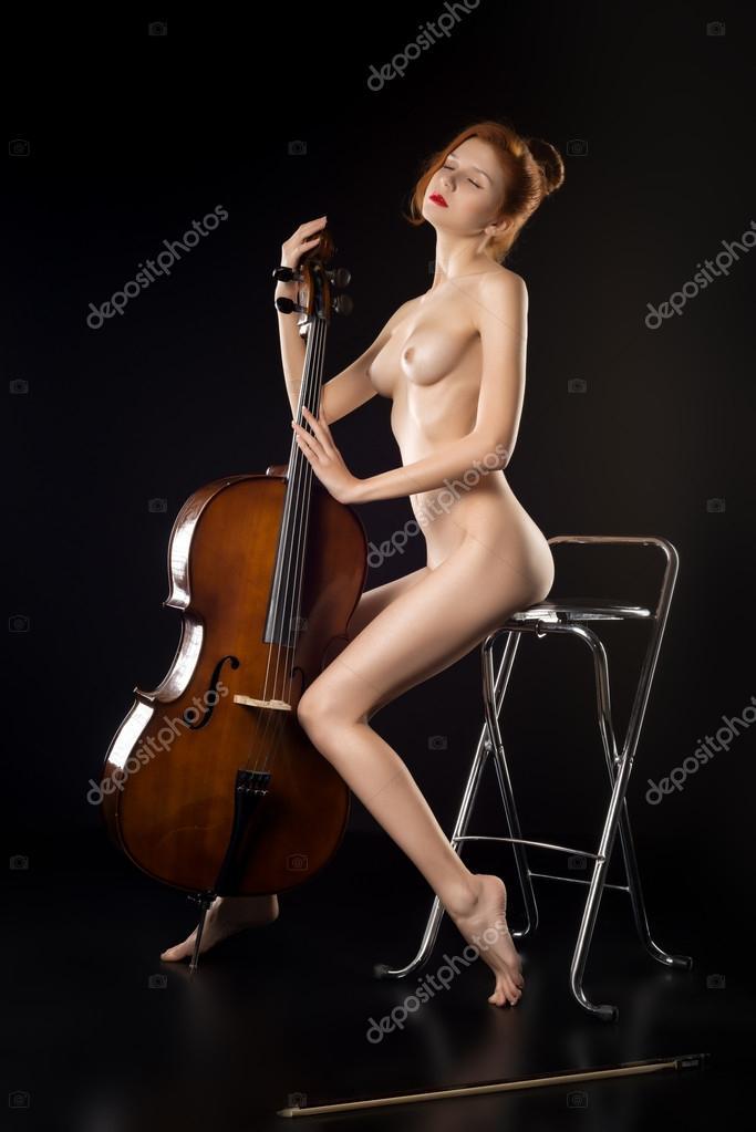 Cello Woman Nude 84