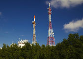 Antenna towers — Stock Photo