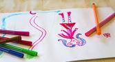 Dibujo para niños — Foto de Stock