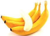 Bananas isolated on white — Photo