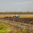 Tractor preparing land for sowing — Stock Photo #60150189
