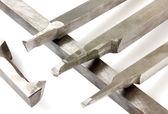 Lathe tools isolated — Stock Photo