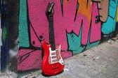 Guitarra eléctrica — Foto de Stock