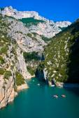 Kanyon verdon gorge, Fransa, provence — Stok fotoğraf