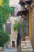 Veranda i södra Frankrike, Cagnes-sur-Mer — Stockfoto