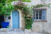Veranda in Zuid-Frankrijk, Cagnes-sur-Mer — Stockfoto