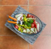 Healthy salad — Stockfoto