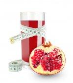 Pomegranate juice — Stock Photo