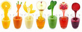 Vegetable and fruit juices — Stok fotoğraf