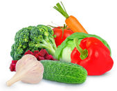 Verduras frescas — Fotografia Stock