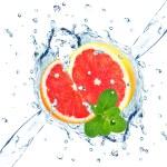 Grapefruit splash — Stock Photo #68903549