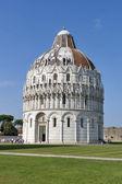 Pisa Baptistry, Tuscany, Italy — Stockfoto