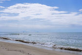 Tuscany sand beach — Photo