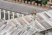 Pisa Camposanto cemetery roof — Stock Photo