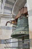 Bell in Leaning Tower of Pisa — Stock Photo