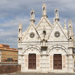 Santa Maria della Spina church in Pisa, Italy. — Stock Photo #57103843