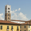 San Frediano church tower in Lucca, Italy. — Stock Photo #58725057