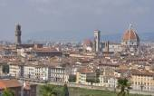 Cityscape of Florence, Italy with the Duomo Cathedral — Stock Photo