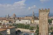 Torre San Niccolo and Florence cityscape, Italy — Foto Stock