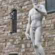Постер, плакат: Statue of David by Michelangelo in Florence Italy