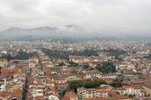 Florence cityscape in the fog — Stock Photo