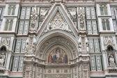 Basílica de Santa María de la flores en Florencia, Italia — Foto de Stock