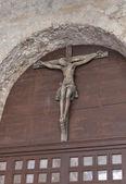 Haç Porec Euphrasian Bazilikası, Hırvatistan — Stok fotoğraf