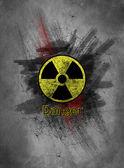 Danger background — Stock Photo