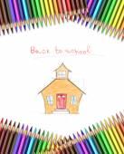 School bakground — Stock Photo