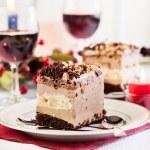 Piece of meringue cake — Stock Photo #54735647