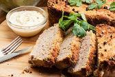 Paté tradicional deliciosa carne con verduras — Foto de Stock
