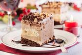 一块酥皮蛋糕 — 图库照片