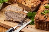 传统美味的肉酱配蔬菜 — 图库照片
