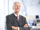 Senior businessman portrait  — Stock Photo