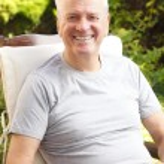 Active senior man portrait — Stock Photo #53505077