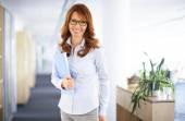 Casual businesswoman portrait — Stock Photo