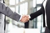 Business people handshake — Stock Photo