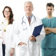 Male professor and medical team — Stock Photo #61841735