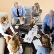 Business people discussing in a meeting — Stock Photo #68237515