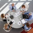 Business people discussing in a meeting — Stock Photo #68237549