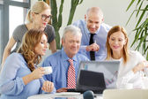 Business people working at office — Stock Photo