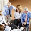 Business people sitting at meeting — Stock Photo #73276519