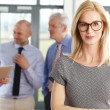 Middle age businesswoman standing — Stock Photo #76594539
