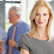 Middle age businesswoman standing — Stock Photo #76594607